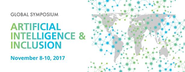 Global Symposium on Artificial Intelligence & Inclusion – Rio de Janeiro