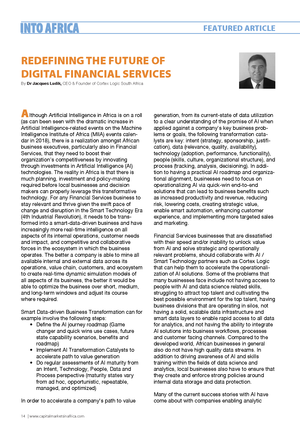 Redefining the Future of Digital Financial Services